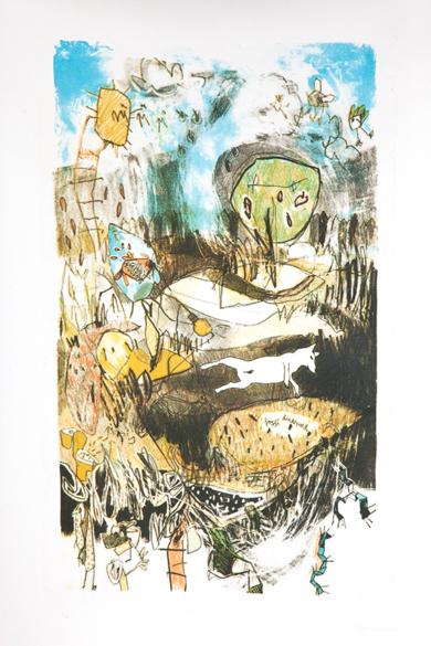 Fosfis Duerme.|Obra gráficadeMarta Aguirre| Compra arte en Flecha.es