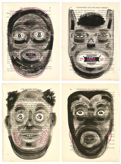 SPECIES I|DibujodeVicente Aguado| Compra arte en Flecha.es