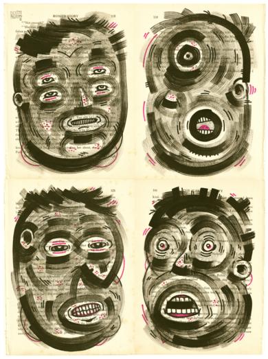 SPECIES V|DibujodeVicente Aguado| Compra arte en Flecha.es