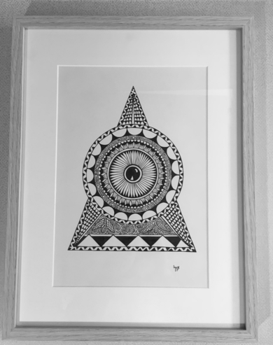 7/18|DibujodeIggyPrado| Compra arte en Flecha.es