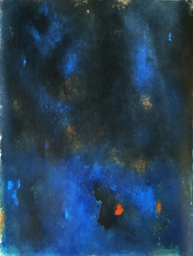 Blue in the night|PinturadeLuis Medina| Compra arte en Flecha.es