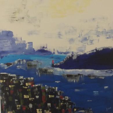BAHIA|PinturadeTines| Compra arte en Flecha.es