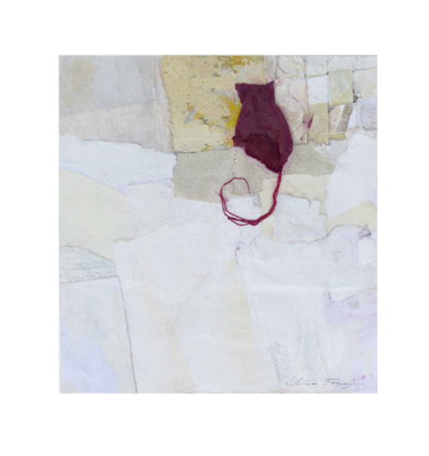 """GATO ROJO""|CollagedeJulia Fragua| Compra arte en Flecha.es"