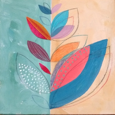S/T de la Serie Natura Inspira|PinturadeANALIA MALOSETTI| Compra arte en Flecha.es
