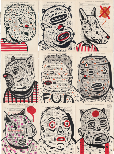 BREACH|DibujodeVicente Aguado| Compra arte en Flecha.es