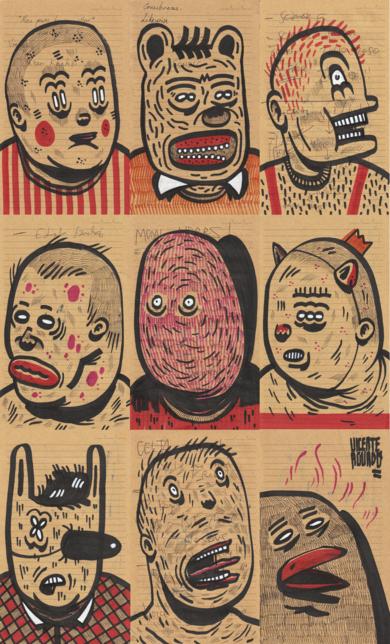 NEUROSIS|DibujodeVicente Aguado| Compra arte en Flecha.es