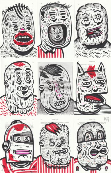 MELTED URANIUM|DibujodeVicente Aguado| Compra arte en Flecha.es