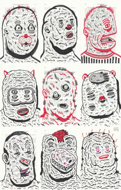 IT´S CHOADE MY DEAR|DibujodeVicente Aguado| Compra arte en Flecha.es