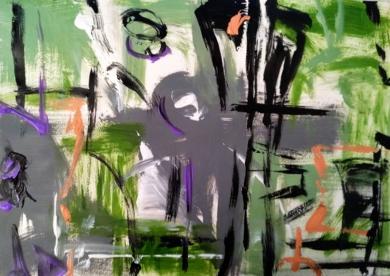 Geometría abstracta 07|Pinturademhberbel| Compra arte en Flecha.es