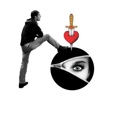Agujero negro nº 15|CollagedeGabriel Aranguren| Compra arte en Flecha.es