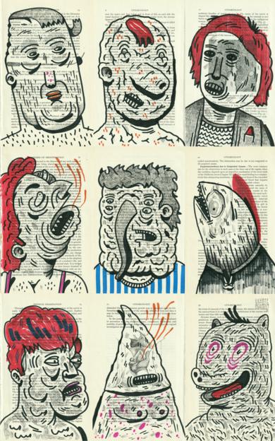 CROWBAR|DibujodeVicente Aguado| Compra arte en Flecha.es