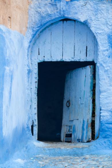 Puertas, Chaouen|FotografíadeÁngela Fernández Häring| Compra arte en Flecha.es