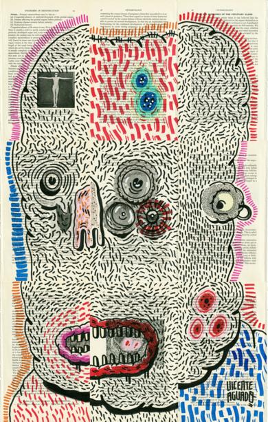 CURSED|DibujodeVicente Aguado| Compra arte en Flecha.es