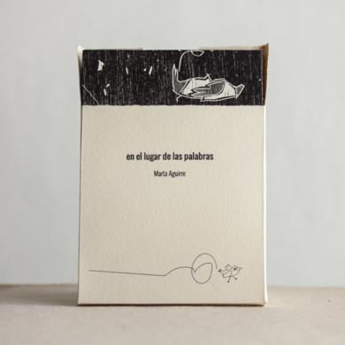 Libro de Artista: En el lugar de las palabras.|Obra gráficadeMarta Aguirre| Compra arte en Flecha.es