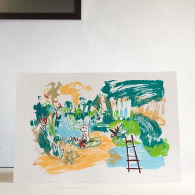Spring Fosfis.|Obra gráficadeMarta Aguirre| Compra arte en Flecha.es