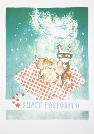 Super Fosforito|Obra gráficadeMarta Aguirre| Compra arte en Flecha.es
