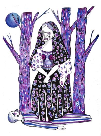 No más por hoy|DibujodeLucas Zapardiel| Compra arte en Flecha.es