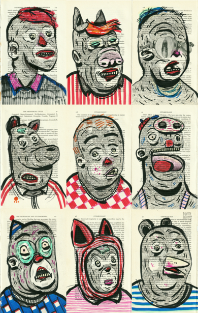 NATIONAL ANTHEM|DibujodeVicente Aguado| Compra arte en Flecha.es