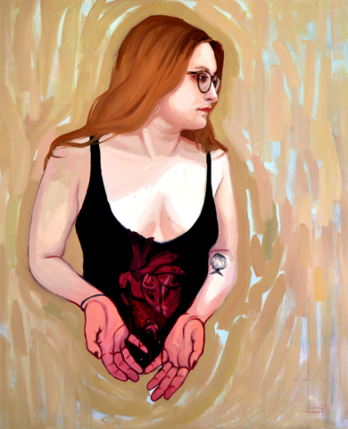 Self-portrait|PinturadeClaudia Suárez| Compra arte en Flecha.es