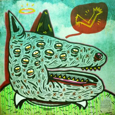 QUIET RIOT|DibujodeVicente Aguado| Compra arte en Flecha.es