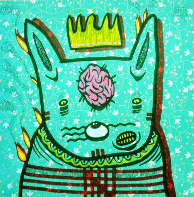 A SHORT RIVER|DibujodeVicente Aguado| Compra arte en Flecha.es