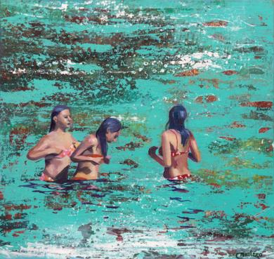 Sirenas|PinturadeCarmen Montero| Compra arte en Flecha.es
