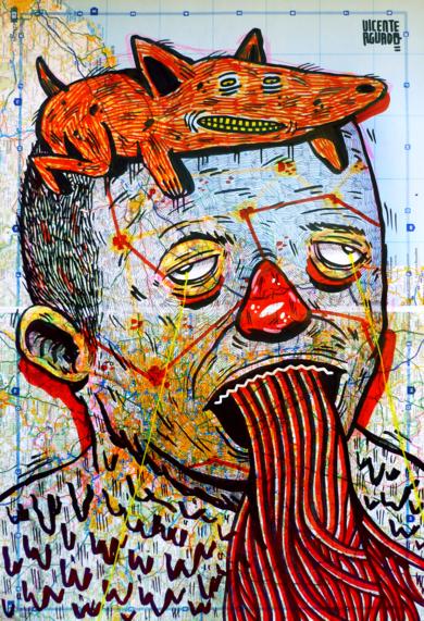 ANTEDILUVIAN|DibujodeVicente Aguado| Compra arte en Flecha.es