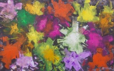 Color Explosion 2 PinturadeFrancisco Santos  Compra arte en Flecha.es