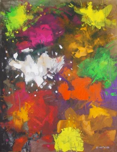 Color Explosion 1 PinturadeFrancisco Santos  Compra arte en Flecha.es