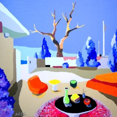 Casa de campo|PinturadeAlejos Lorenzo| Compra arte en Flecha.es