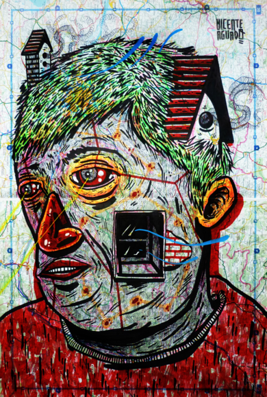 RYANAIR FORCE ONE|DibujodeVicente Aguado| Compra arte en Flecha.es
