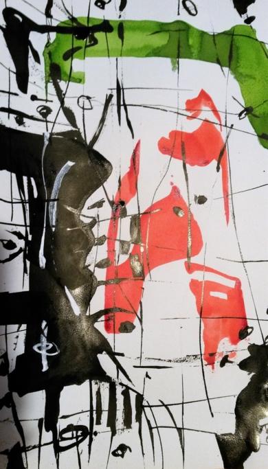 Tinta March'18 number 4|Pinturademhberbel| Compra arte en Flecha.es