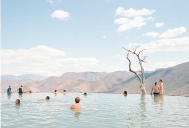 Hierve  el Agua|FotografíadeVicente Manssur| Compra arte en Flecha.es