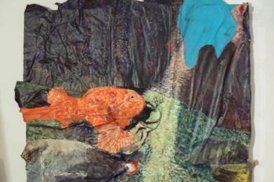 El refugio de cala Marmassen|Pinturaderivera| Compra arte en Flecha.es