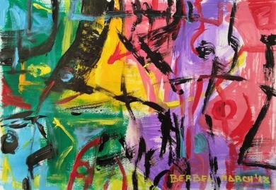 Geometría abstracta 6|Pinturademhberbel| Compra arte en Flecha.es