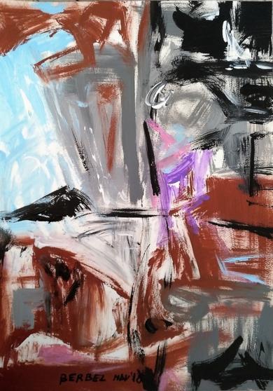 Geometría abstracta  08|Pinturademhberbel| Compra arte en Flecha.es