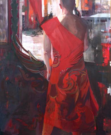 La llamada de Garuda|PinturadeCarmen Montero| Compra arte en Flecha.es