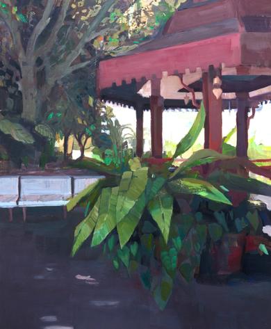 El templete|PinturadeCarmen Montero| Compra arte en Flecha.es