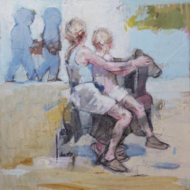 El primer día|PinturadePilar López Báez| Compra arte en Flecha.es