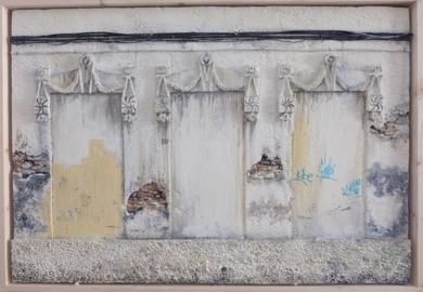 La huella del tiempo (VII)|Escultura de pareddeMoVico| Compra arte en Flecha.es