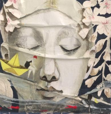 Pequeños mares|CollagedeMenchu Uroz| Compra arte en Flecha.es