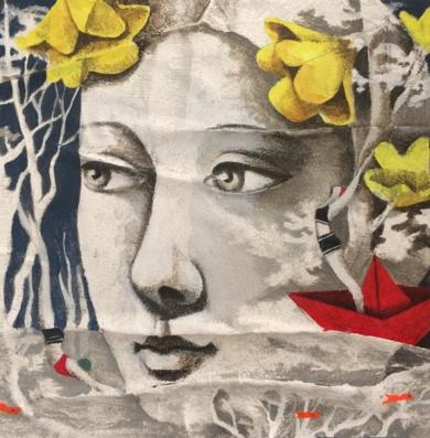 Pequeños mares III|CollagedeMenchu Uroz| Compra arte en Flecha.es