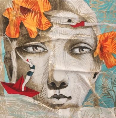 Pequeños mares II|CollagedeMenchu Uroz| Compra arte en Flecha.es