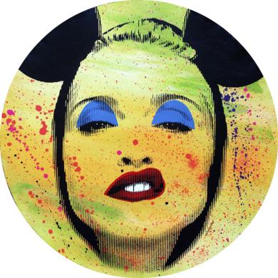 Pop Icon No. 174|PinturadeSilvio Alino| Compra arte en Flecha.es