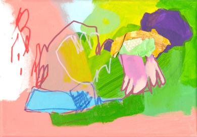 GARDEN  08|PinturadeMarta Aguirre| Compra arte en Flecha.es