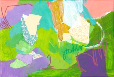 GARDEN  06|PinturadeMarta Aguirre| Compra arte en Flecha.es