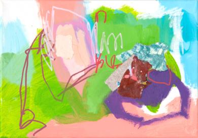 GARDEN  09|PinturadeMarta Aguirre| Compra arte en Flecha.es