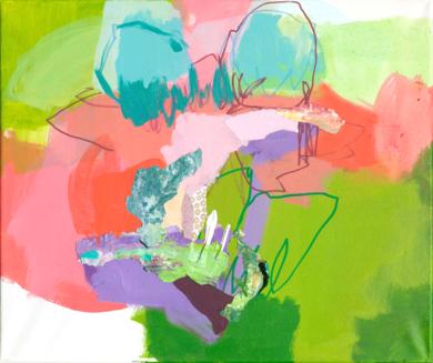 GARDEN 11|PinturadeMarta Aguirre| Compra arte en Flecha.es