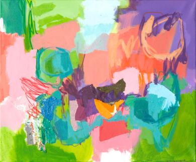 GARDEN 13|PinturadeMarta Aguirre| Compra arte en Flecha.es