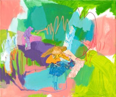 GARDEN  14|PinturadeMarta Aguirre| Compra arte en Flecha.es